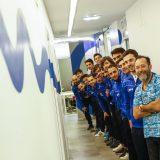 jugadores del langreo en el dentista cortina  2/02/2017 foto: Juan Carlos Román